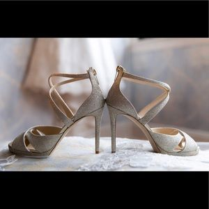 Gorgeous Worn One Jimmy Choo Wedding Shoes